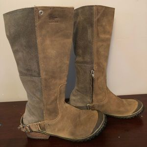 Sorel Slimboot size 7 dual color riding tall boot
